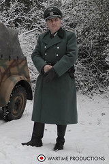 German ww2 Officer (Wartime Productions) Tags: wartime german ww2 living history group hurricane actor spotlight filming television model walk on supporting artist extra film tv movie body double skill stand in assistant director runner ad picture uniform uniforms period clothing hire utility casting reconstruction documentary greatcoat civilian kubelwagen vehicles wwii