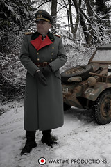German ww2 General (Wartime Productions) Tags: wartime german ww2 living history group hurricane actor spotlight filming television model walk on supporting artist extra film tv movie body double skill stand in assistant director runner ad picture uniform uniforms period clothing hire utility casting reconstruction documentary greatcoat civilian kubelwagen vehicles wwii