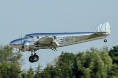 N18130 (PlanePixNase) Tags: aircraft airport planespotting haj eddv hannover langenhagen lockheed electra junior l12a artdecoaviation 12a n18130