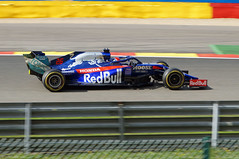 2019-09-01 073; Spa; Formel 1; Daniil Kwjat (Joachim_Hofmann) Tags: formel1 spafrancorchamps groserpreisvonbelgien2019 grandprixvonbelgien2019 daniilkwjat redbulltororossohonda scuderiatororossostr14 hondara619h