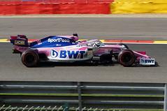 2019-09-01 052; Spa; Formel 1; Sergio Pérez (Joachim_Hofmann) Tags: formel1 spafrancorchamps groserpreisvonbelgien2019 grandprixvonbelgien2019 sergiopérez sportpesaracingpointf1team racingpointrp19 bwtmercedes