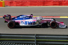 2019-09-01 051; Spa; Formel 1; Sergio Pérez (Joachim_Hofmann) Tags: formel1 spafrancorchamps groserpreisvonbelgien2019 grandprixvonbelgien2019 sergiopérez sportpesaracingpointf1team racingpointrp19 bwtmercedes