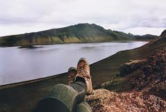 . (Careless Edition) Tags: photography film mountain nature landscape iceland island highland laugavegur alftavatn