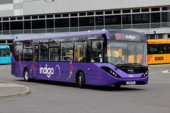 trentbarton: 209 / YY18 TPV (Northern Transport Photos) Tags: trentbarton derby derbybusstation wellglade