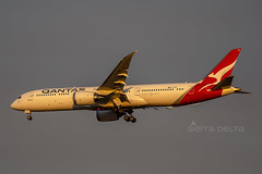 VH-ZNA B789 QANTAS YBBN (Sierra Delta Aviation) Tags: qantas boeing b789 brisbane airport ybbn vhzna