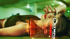 ([ pydjhaman ]) Tags: portrait modelphoto frenchmodel chanteuse parking neon paris olympia musichall metz lorraine beaune bourgogne realisateur filmmaker auteur writer photographe photographer pydjhaman