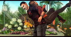 Lets go this way (RyanTailor (Taking Clients)) Tags: tmd themensdept event monthly new man boy guy gay homme femme girl lady women woman secondlife virtualworld outdoor pose couple nature cats notsobad clefdepeau chucks zarakent ardent on9 scandalize genus slink bento maitreya mustache beard facialhair masculine amias bracelet jewelery belleza body head bentohead