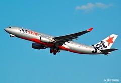 JETSTAR A330 VH-EBD (Adrian.Kissane) Tags: airline airliner jet plane aircraft airbus aeroplane flight flying departing australia sky outdoors 513 512009 a330 vhebd sydney jetstar