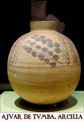 Ajuar de tumba. Arcilla. Época meroítica, 300 a.C.-350 d.C. Nag Gamus, Masmás (Nubia, Egipto)