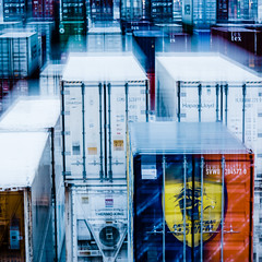 container tetris (m_laRs_k) Tags: sliderssunday mannheim germany square icm handelshafen harbor port mlarsk