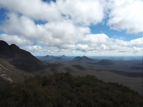 Views of Western Stirling Ranges - Mt Hassell, Stirling Ranges, Western Australia