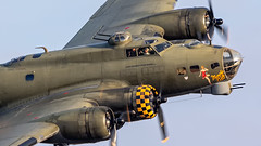 B-17 during the sunset Airshow at Sanicole 2019 (PH-OTO) Tags: sanicole sunset airshow 2019 hechtelt kleine brogel air aircraft airline airlines airplane airport avgeek civil military private general aviation aviationdaily aviationgeek avporn canon eos fighter fighterjet flight fly force helicopter jet photo photography photos pilot plane planespotting sky spotting b17 memphis belle north american vintage warbird warbirds boeing