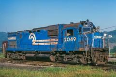 Conrail 2049 (douglilly) Tags: conrail mingojunction c430