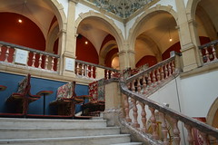 Grand staircase in Battersea Arts Centre (Matt From London) Tags: batterseaartscentre bac stairs staircase