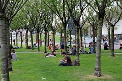 vanishing points 2 (andrevanb) Tags: landscape architecture sveningvarandersson amsterdam museumplein