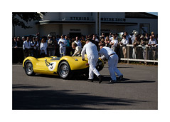 Lister-Jaguar 'Knobbly' (realjv) Tags: 1958listerjauguarknobbly 2019 goodwood goodwoodmotorcircuit xf50mmf2 fuji fujifilm goodwoodrevival mechanic motorsport racecar racingcar retro sussextrophy vintage xpro2