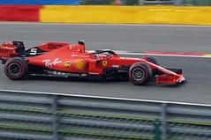 2019-09-01 040; Spa; Formel 1; Sebastian Vettel (Joachim_Hofmann) Tags: formel1 spafrancorchamps groserpreisvonbelgien2019 grandprixvonbelgien2019 sebastianvettel scuderiaferrari ferrarisf90 ferrari064