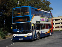 Stagecoach TransBus Trident (TransBus ALX400) 18108 KX04 RVK (Alex S. Transport Photography) Tags: bus outdoor road vehicle stagecoach stagecoachmidlandred stagecoachmidlands alx400 alexanderalx400 dennistrident trident transbustrident transbusalx400 route6 18108 kx04rvk