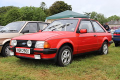 Ford Escort XR3 HOR290X (Andrew 2.8i) Tags: pembrokeshire haverfordwest scolton manor show automobile auto voiture cars car classics classic euro european hatch hot hatchback xr xr3i mark 3 iii mk mk3 xr3 escort ford hor290x