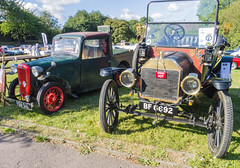 Photo of My 1914 Ford Model T - first car meet.