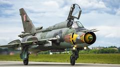 Su-22M4 (kamil_olszowy) Tags: su22m4 sukhoi fitter fighter bomber kobyła 9102 polish air force green epde dęblinirena siły powietrzne rp сухой су22m4 ввс польши
