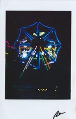 "Fujitiva_108 "" In the City "" (Robert Olaf) Tags: 2019 fotodiario fujitiva fujitivafujitivas fujitivas insta instaphoto papel paper pictureoftheday luces neon picoftheday fujifilm instafuji robolaf color ishootfilm instax instafilm feria warriors night city"