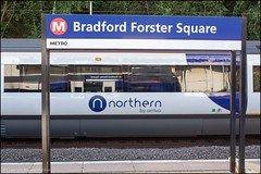 Bradford Forster Square (Mike McNiven) Tags: bradford forstersquare northern arriva railnorth logo sign station