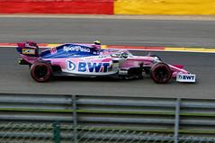 2019-09-01 046; Spa; Formel 1; Lance Stroll (Joachim_Hofmann) Tags: formel1 spafrancorchamps groserpreisvonbelgien2019 grandprixvonbelgien2019 lancestroll sportpesaracingpointf1team racingpointrp19 bwtmercedes