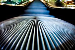 Dreams About Libraries (Thomas Hawk) Tags: california usa college architecture america university unitedstates unitedstatesofamerica escalator sanjose sjsu photowalk southbay sanjosestateuniversity sanjosestateuniversitylibrary sjphoto2011 library fav50 fav10 fav25 fav100