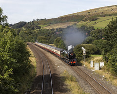 34046 Chinley 140919 N63A1827-a (Tony.Woof) Tags: sr west country class 34046 braunton chinley north junction saphos trains yorkshire traveller 1z90