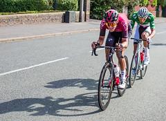 Trentin vs Van der Poel (PaulEBennett) Tags: blackrod cycling race tourofbritain bolton