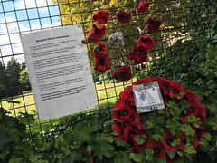 Avington Grove V1 memorial (Matt From London) Tags: v1 memorial penge poppies ww2