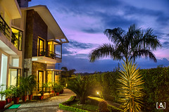Corbett Solitaire Resort (Ansari.Photography) Tags: india instagram indian resort hotel restaurant luxury night photography nikon ansariphotography holidays outdoor clouds dramatic solitaire dhela ramnagar kashipur uttarakhand infrastructure interior hdr highdynamicrange