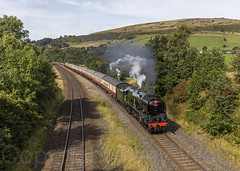 34046 Chinley 140919 N63A1841-a (Tony.Woof) Tags: sr west country class 34046 braunton chinley north junction saphos trains yorkshire traveller 1z90