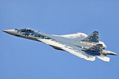 "Sukhoi Su-57 ""051 Blue"" (Nils Mosberg) Tags: zhukovsky maks2019 sukhoisu57 russianaerospaceforces"
