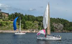 KSSS ÅF Offshore Race (Gotland Runt) 2016, Oxdjupet (Gösta Knochenhauer) Tags: 2016 july panasonic lumix fz1000 dmcfz1000 vaxholm rindö stockholm sverige sweden schweden svezia suecia suède boat sailboat sailing archipelago skärgård ksss åf offshore race nik ksssåfoffshorerace gotlandrunt oxdjupet p9050990nik p9050990 leica lens