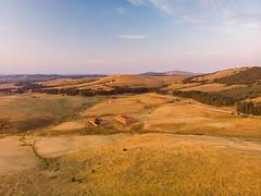 Zlatibor mountain in Serbia aerial photography