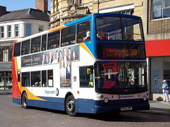 Stagecoach TransBus Trident (TransBus ALX400) 18152 PX04 DPF (Alex S. Transport Photography) Tags: bus outdoor road vehicle stagecoach stagecoachmidlandred stagecoachmidlands alx400 alexanderalx400 dennistrident trident transbustrident transbusalx400 route88 18152 px04dpf