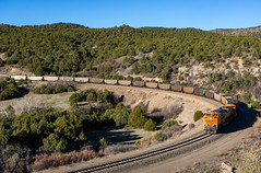 Oak Canyon,NM (Kyle Yunker) Tags: bnsf emd sd70ace train oak canyon new mexico