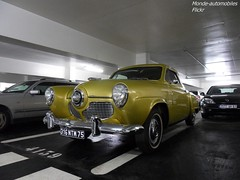 Studebaker Champion (Monde-Auto Passion Photos) Tags: voiture vehicule auto automobile cars studebaker champion ancienne classique rare rareté collection parking sousterrain vendome france paris