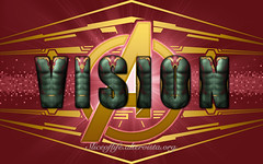 Vision (Avengers) (blindsuperhero) Tags: marvel superheroes texteffect wallpaper background dccomics vision avengers ageofultron mcu costume fictionalcharacter