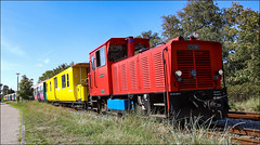 Kleinbahn-4514 (hans der insulaner) Tags: schmalspurbahn train lok lokomotive diesellokomotive diesellok bahn eisenbahn