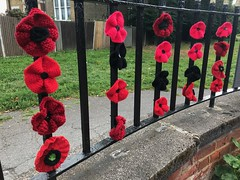 Crocheted poppies (Matt From London) Tags: poppies crochet penge memorial remembrance