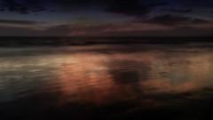 As dusk enters darkness (remiklitsch) Tags: ocean new longexposure sunset reflection nikon beginning remiklitsch newyearsday