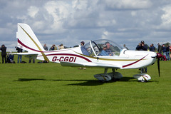 G-CGDI Aerotechnik EV-97A Eurostar cn PFA 315A-14606 Sywell 01Sep19 (kerrydavidtaylor) Tags: orm egbk sywellaerodrome northamptonshire
