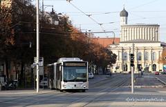 Bunte Buswelt - Augsburg (apfelpudding) Tags: bus autobus omnibus linienbus öpnv nahverkehr publictransport urbanmobility bayern swa stadtwerkeaugsburg citaro2 c2 mercedesbenz mercedesbenzcitaro2