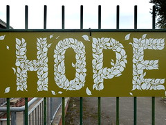 'Hope' (Tony Worrall) Tags: preston lancs lancashire city welovethenorth nw northwest north update place location uk england visit area attraction open stream tour country item greatbritain britain english british gb capture buy stock sell sale outside outdoors caught photo shoot shot picture captured ilobsterit instragram photosofpreston ashtononribble ashton vewsone sign hope walledgarden fun quirky ashtonpark community