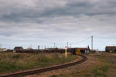 Loco 12 at Dungeness (theRealDieselDave) Tags: rhdr romney dungeness loco diesel train railway