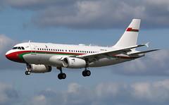 Royal Flight Oman | A319-100(CJ) | A4O-AJ | HAM | 14.09.2019 (Norbert.Schmidt) Tags: ham airbus a319 hamburgairport a319100cj royalflightoman a4oaj