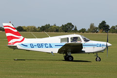 Piper PA-28-161 Cadet G-GFCA (MUSTANG_P51) Tags: sywell piper pa28161 cadet ggfca